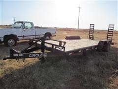 Circle M 7' X 20' T/A Flatbed Trailer