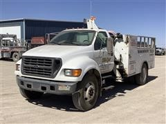 2001 Ford F650 Service Truck