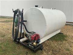 McDonald 300 Gallon Fuel Tank & Motorized Pump