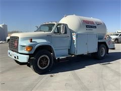 1998 Ford F700 S/A Propane Delivery Truck
