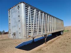 1964 Timpte T/A Straight Deck Livestock Trailer