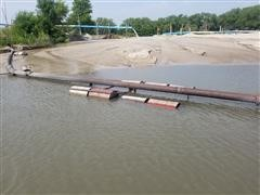"""8"""" Steel Pipe And Floats"""