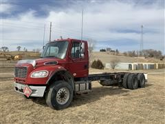 2012 Freightliner Business Class M2 T/A Cab & Chassis