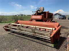 Hesston 6600 Windrower