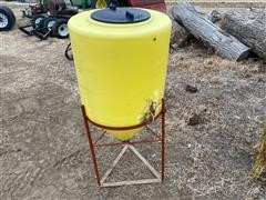 55 Gallon Cone Bottom Fert Tank