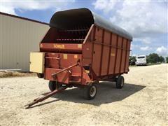 Schuler F716 Forage Wagon