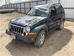 2005 Jeep Liberty 4x4 SUV (Inoperable)