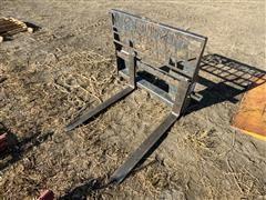 Virnig Skid Steer Pallet Forks