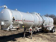 2014 Dragon 8400 Gallon Aluminum T/A Tanker Trailer