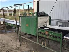 "Produce Packing Machinery 6"" HI Produce Washer/Processor"