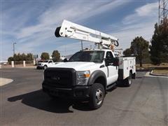 2013 Ford F450 4x4 Truck W/bucket Lift
