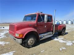 2001 International 4700E 2WD Dually Pickup W/Extra Flatbed