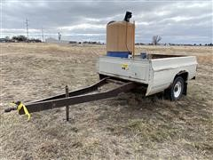 Homemade Fertilizer Trailer & Pump
