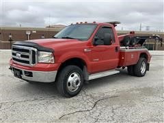 2006 Ford F350 XLT Super Duty 4x4 Wrecker w/ Miller 411 Recovery Unit