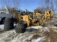 Vermeer V8550A Trencher W/ Extra Tires (Inoperable)