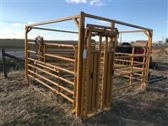 Sioux Maternity Pen With Self-Catching Head Gate