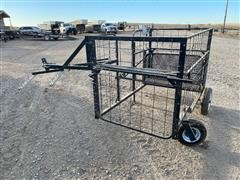 ATV Livestock Calf Catcher W/Scale