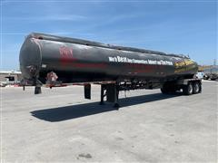 1993 Heil 4-Compartment T/A Aluminum Fuel Tanker Trailer