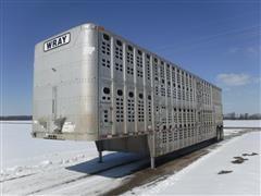 1995 Wilson PSDCL-302 48' Multi-Level T/A Livestock Trailer