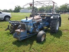 Ford 3910 2WD Tractor W/Brouwer A3A Sod Harvester