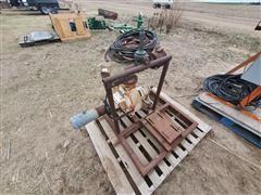 Brown 30CP Water Pump
