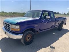 1995 Ford F150 4x4 Extended Cab Pickup