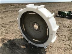 Irrigation Sprinkler Wheel W/Plastic Tire