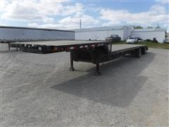 2012 Jet 53' T/A Drop Deck Trailer W/Ramps