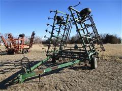 Baker 6100 30' Field Cultivator W/3 Bar Harrow