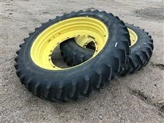 Firestone 14.9R46 Tires On Titan Rims