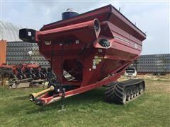 J&M 1075-18 Tracked Grain Cart