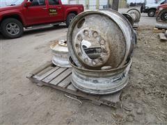 24.5 X 8.25 Steel Stud Pilot Truck Wheels