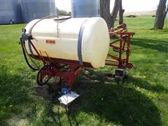 Kuker 300 Gallon 40' Sprayer W/Hypro 7560C Pump