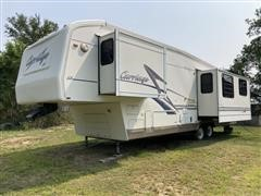 1999 Carriage Caribou LS334 5th Wheel Travel Trailer