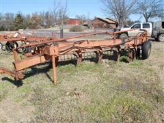 Case 400 5 Bottom Moldboard Plow W/Harrow
