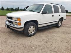 1999 GMC Tahoe K1500 4x4 SUV