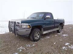 1994 Dodge RAM 1500 Laramie SLT 4x4 Regular Cab Pickup