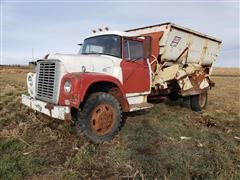 1965 International Loadstar 1600 4x4 Truck W/BJM Mixing Feed Box