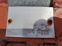 Serial # Plate