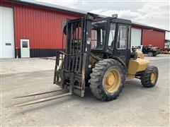2000 Eagle Picher RT804WC 4x4 Rough Terrain Forklift