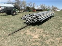 "6"" Irrigation Pipe W/Trailer"