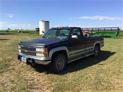 1993 Chevrolet 2500 4x4 Service Pickup