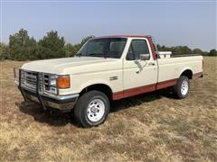 1987 Ford F150 XLT Lariat 4x4 Pickup