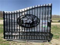 2020 Greatbear 20' Bi-Parting Wrought Iron Gate