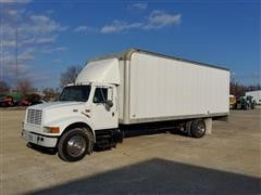 1999 International 4700 S/A Box Truck