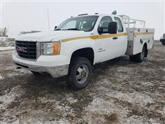 2008 GMC 3500HD 4x4 Extended Cab Service Truck