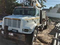 1995 International 9400 T/A Boom Truck For Parts Only