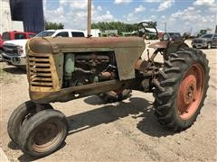 1952 Oliver 77 2WD Row Crop Tractor