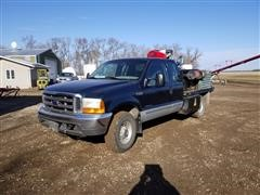 1999 Ford F250 4x4 Extended Cab Service Pickup