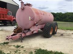 Calumet V3750 Manure Vacuum Tanker
